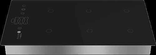 Built-in induction unit in elegant design