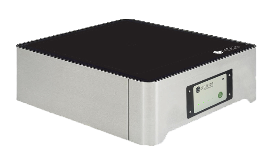 Tabletop induction unit