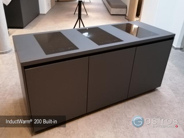 Hotel Bankett mobiler Counter mit Induktionstechnik